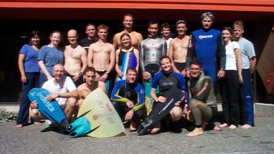 Group Photo at Minoru Pool