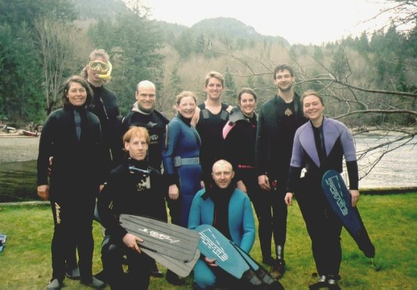 Group photo at Porteau Cove
