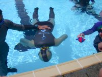 Static apnea in UBC outdoor pool